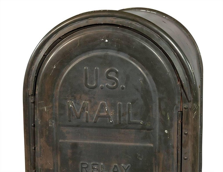 Mid-20th Century Original US Postal Relay Mail Box For Sale