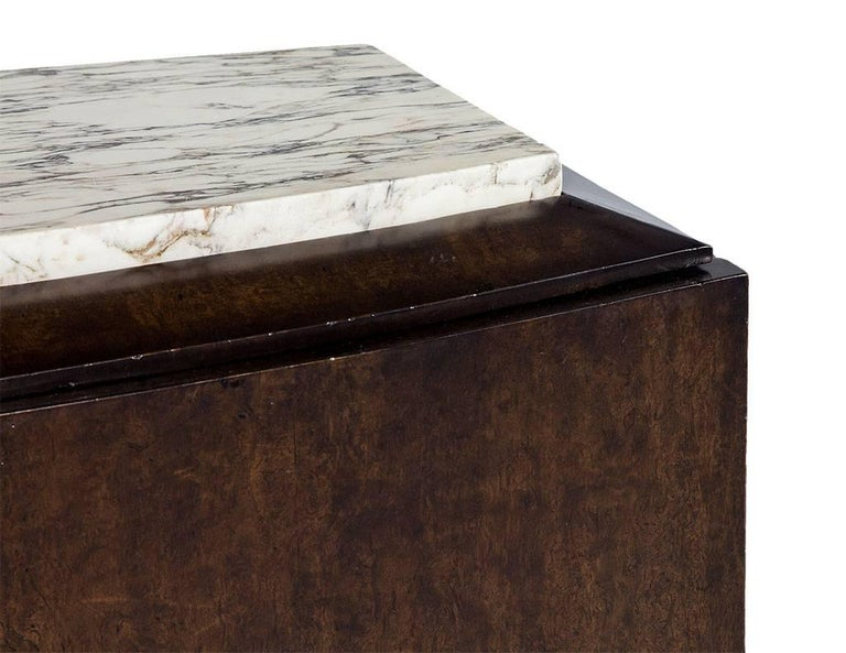 French Art Deco Marble-Top Sideboard In Good Condition For Sale In North York, ON