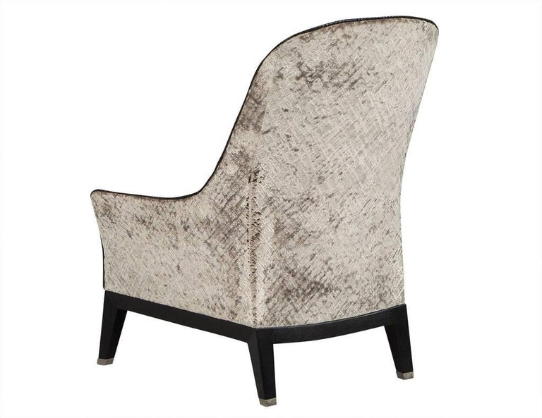 American Gorgeous High Back Lounge Chair For Sale