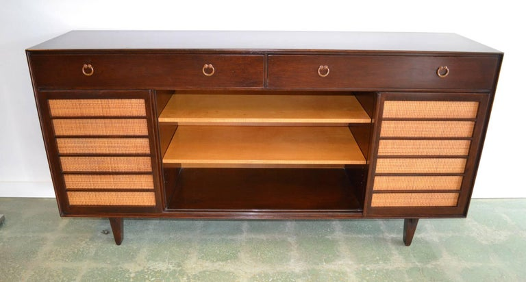 20th Century Sideboard Credenza for Dunbar by Edward Wormley Mid-Century Modern Model 671-A For Sale