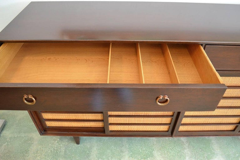 Sideboard Credenza for Dunbar by Edward Wormley Mid-Century Modern Model 671-A For Sale 1