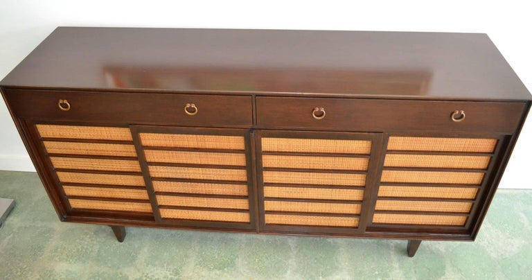 American Sideboard Credenza for Dunbar by Edward Wormley Mid-Century Modern Model 671-A For Sale