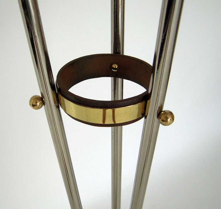 Three-Arm Floor Lamp Fabulous French Design For Sale 1