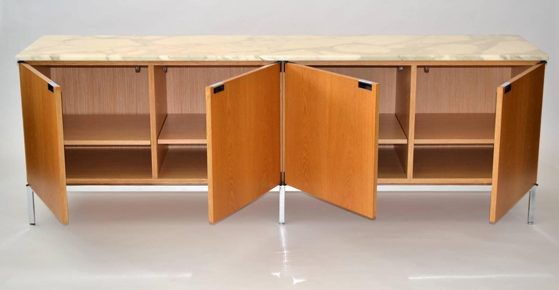 florence knoll buffet credenza at 1stdibs. Black Bedroom Furniture Sets. Home Design Ideas