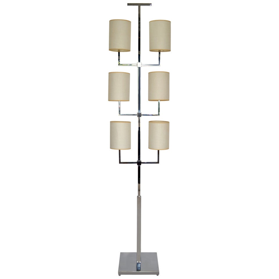 Rare Floor Lamp by Tommi Parzinger