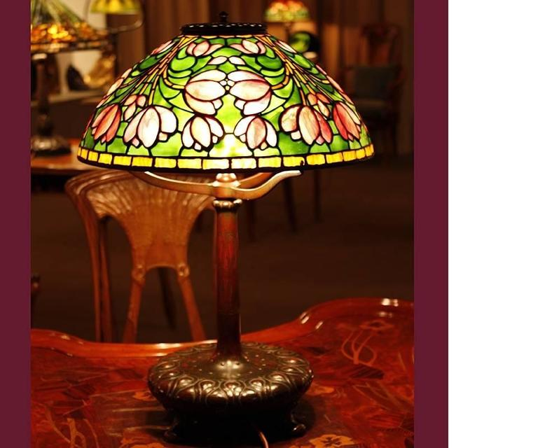 Tiffany Studios New York Crocus Table
