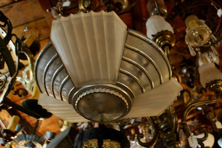 American Elegant and Sexy Small Art Deco Light For Sale