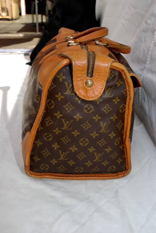 1960s Louis Vuitton Monogram Travel Bag Special Made for Saks Fifth Avenue  For Sale 1 9b8e129970d05