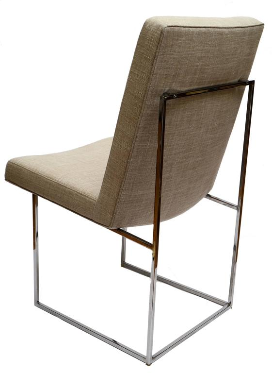 American Set of Six Milo Baughman Dining Room Chairs For Sale