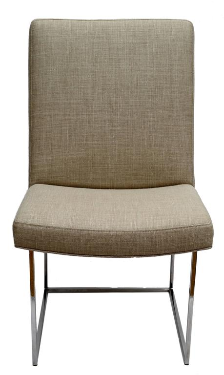 Set of Six Milo Baughman Dining Room Chairs In Good Condition For Sale In Miami, FL
