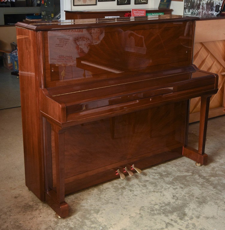 Schulze Pollman Piano with a Baby Grand Style Top 5