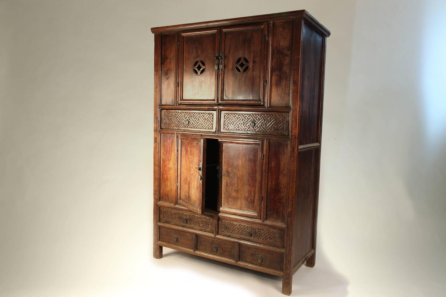 Chinese Round Corner Cabinet For Sale At 1stdibs
