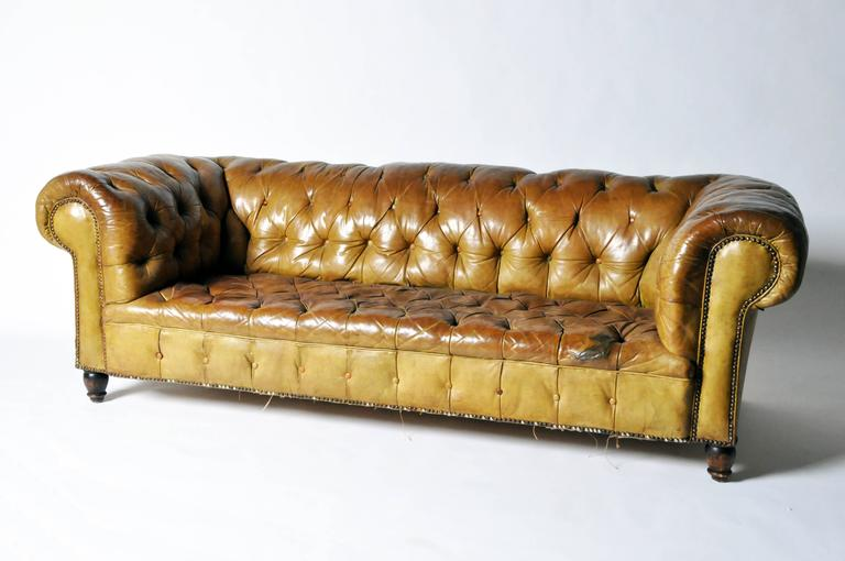 Leather Chesterfield Sofa 3