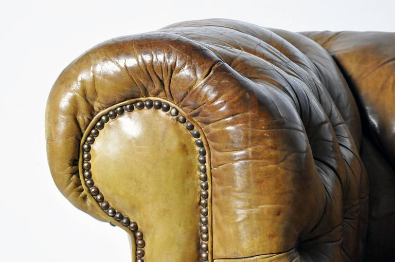 Leather Chesterfield Sofa 4