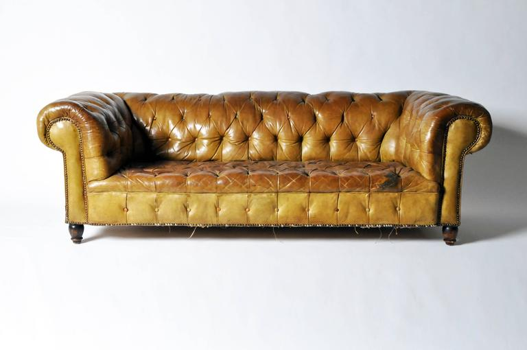 Leather Chesterfield Sofa 2
