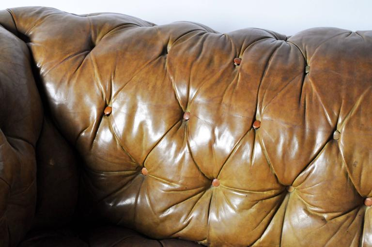 Leather Chesterfield Sofa 5