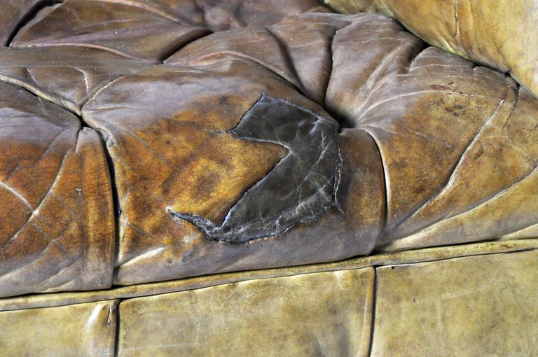Leather Chesterfield Sofa 7