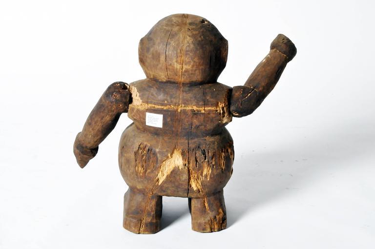 Southeast Asian Wooden Papier Mâché Figurine Mold For Sale at 1stdibs