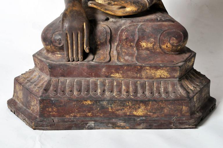 Shan Burmese Buddha Figure For Sale 4