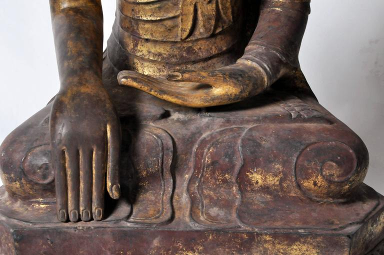 Shan Burmese Buddha Figure For Sale 2