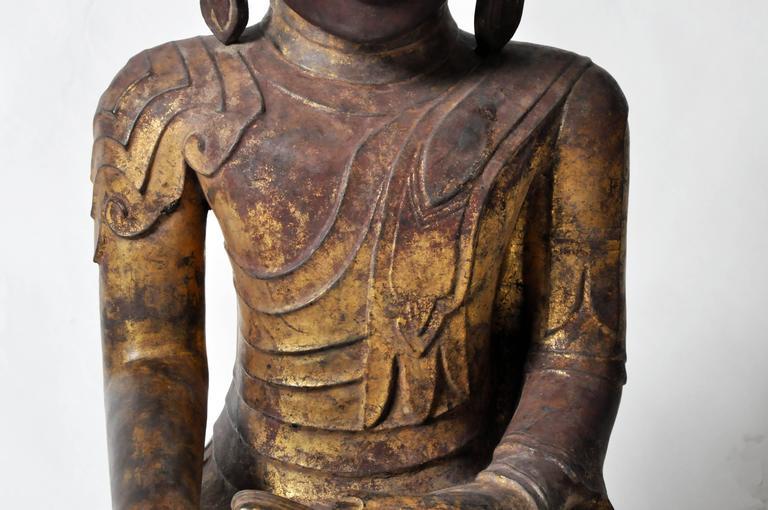 Shan Burmese Buddha Figure For Sale 1