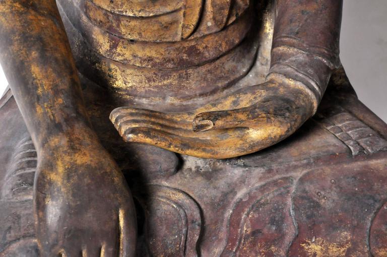 Shan Burmese Buddha Figure For Sale 3