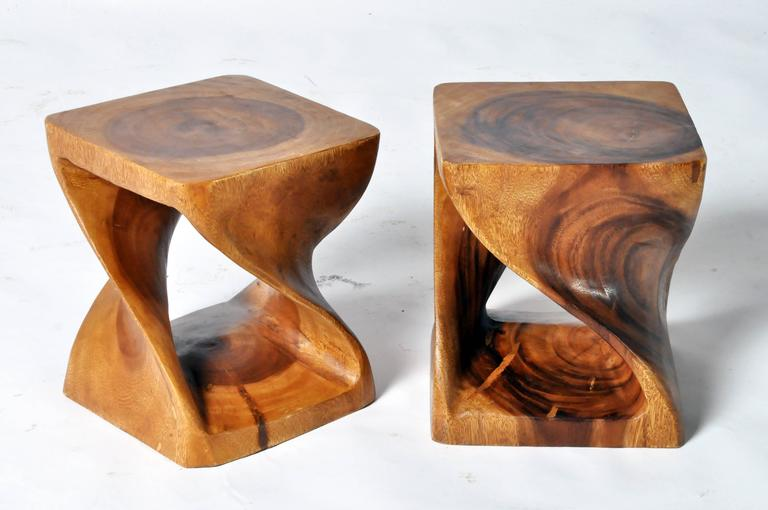 Hand Carved Stools At 1stdibs