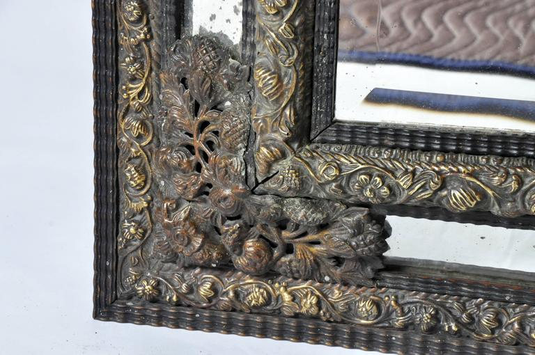 Dutch Baroque Mirror For Sale 5