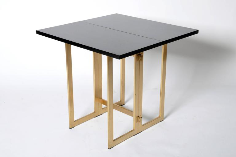 folding console table for sale at 1stdibs. Black Bedroom Furniture Sets. Home Design Ideas