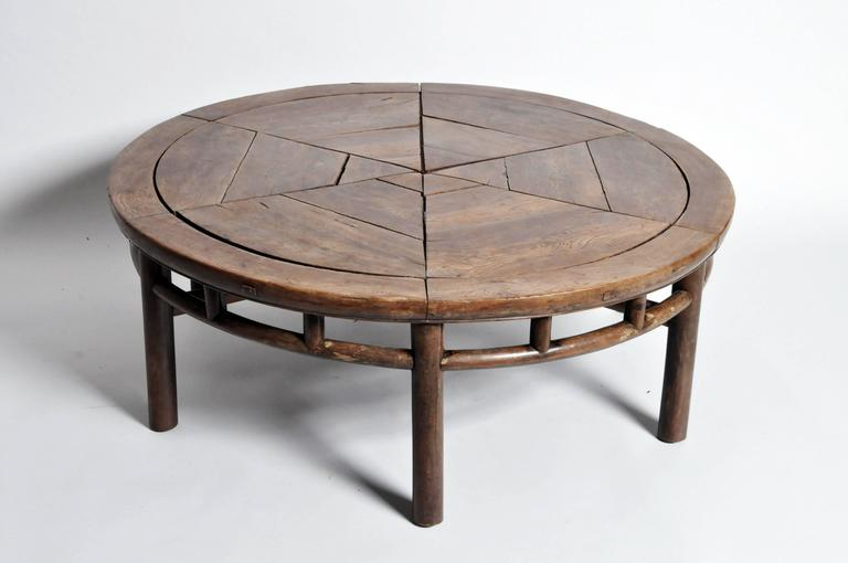 Chinese Round Tea Table, Early 19th Century. This Is A Masterpiece Of The  Art