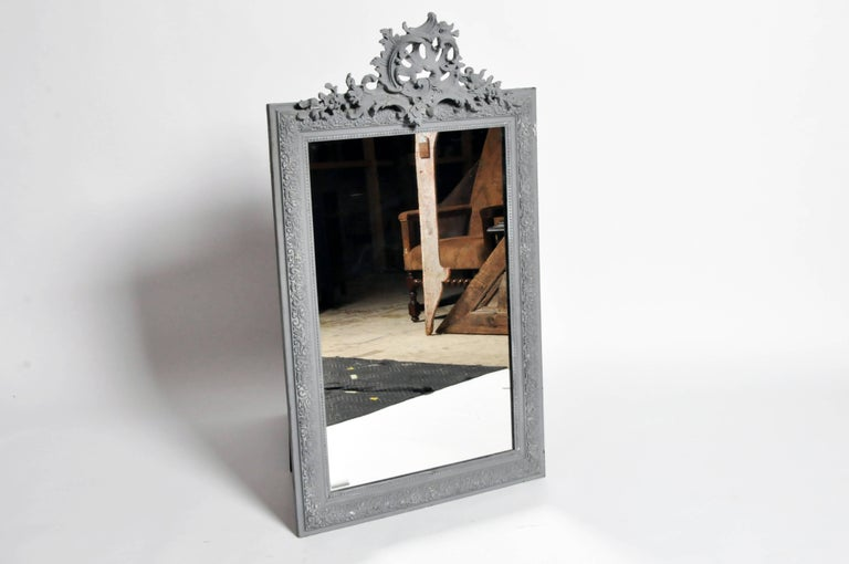 French Napoleon III Style Mirror For Sale
