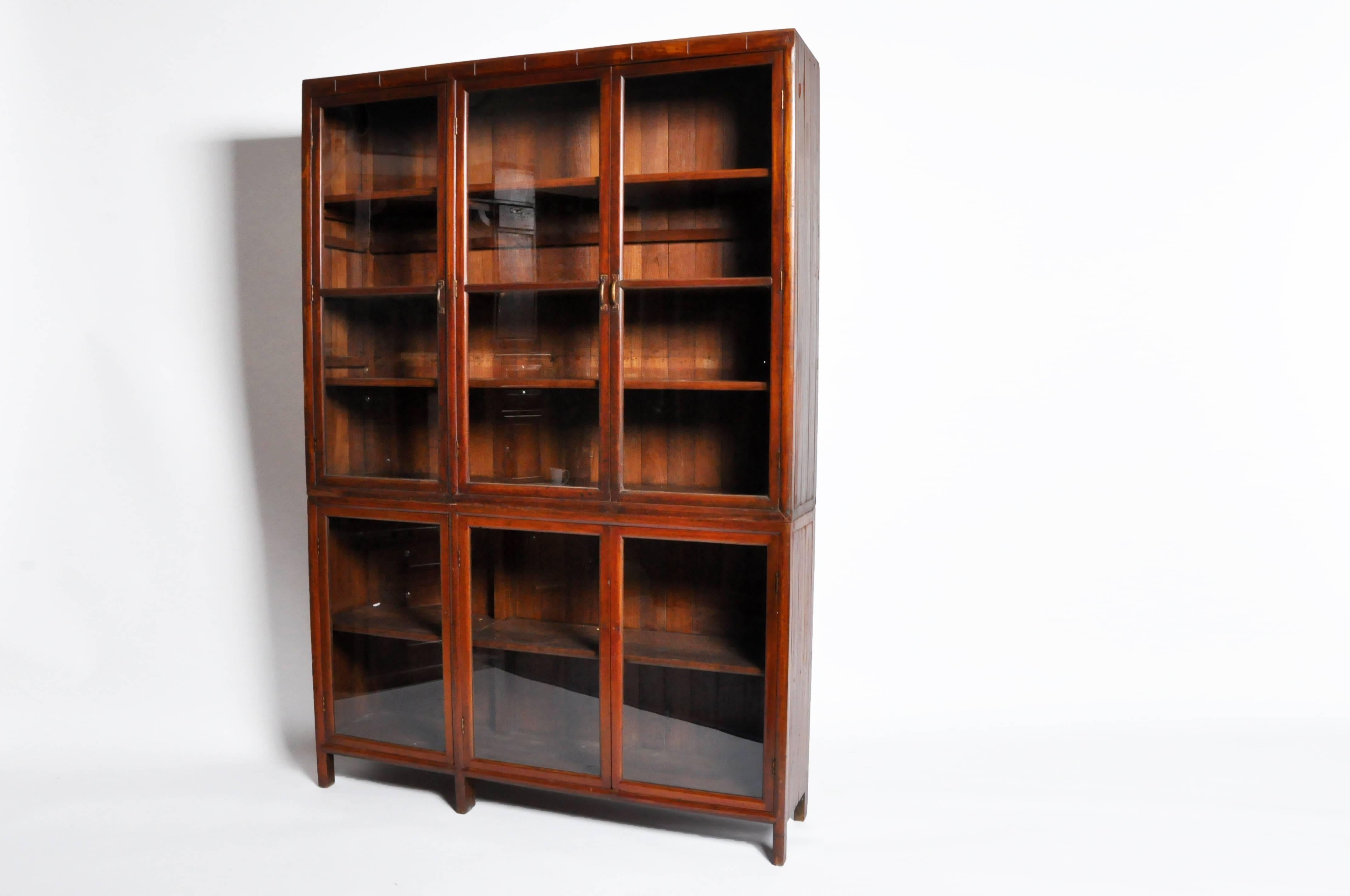 British Colonial Bookcase At 1stdibs