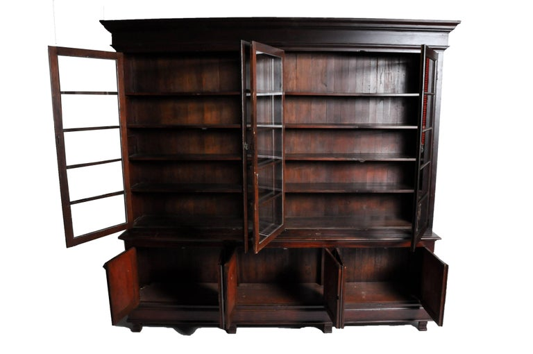 Monumental British Colonial Bookcase For Sale At 1stdibs