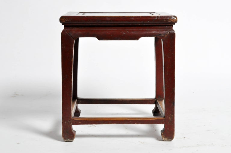 Chinese Square Low Table At 1stdibs