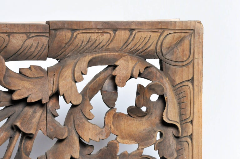 Burmese Hand Carved Arch For Sale 1