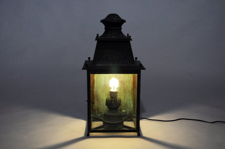 vintage french copper hanging lamp at 1stdibs