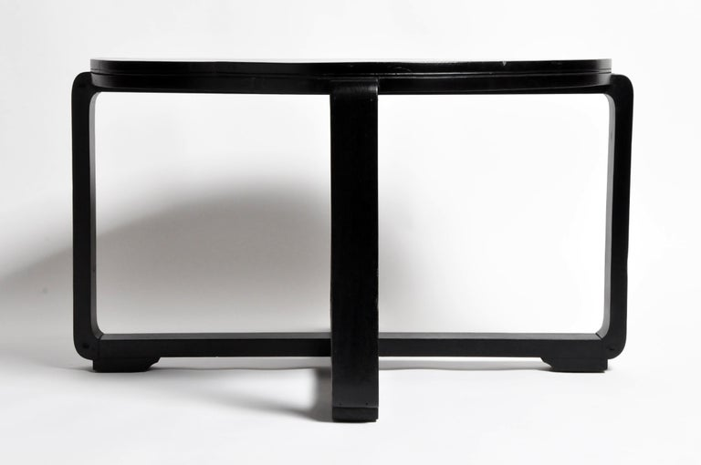 Mid-20th Century British Colonial Art Deco Tea Table For Sale