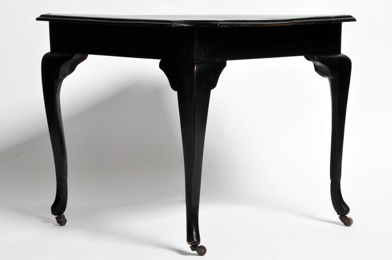 British Colonial Art Deco Tea Table For Sale 5