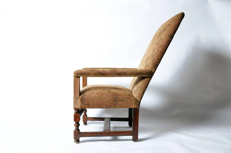 louis xiii style fauteuil for sale at 1stdibs. Black Bedroom Furniture Sets. Home Design Ideas