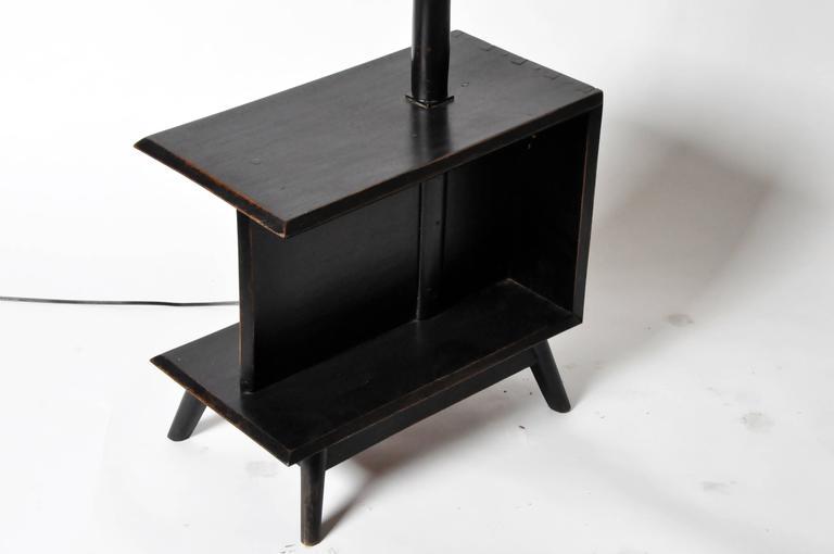 Mid-Century Modern Modern Side Table Floor Lamp For Sale