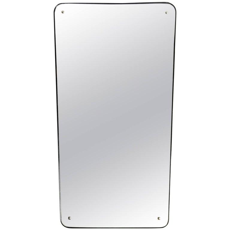 Mid-Century Modern Streamline Mirror