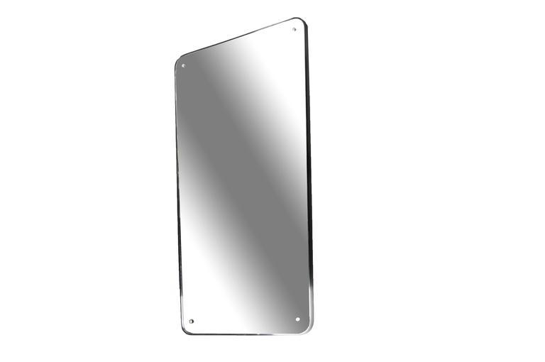 Italian Mid-Century Modern Streamline Mirror
