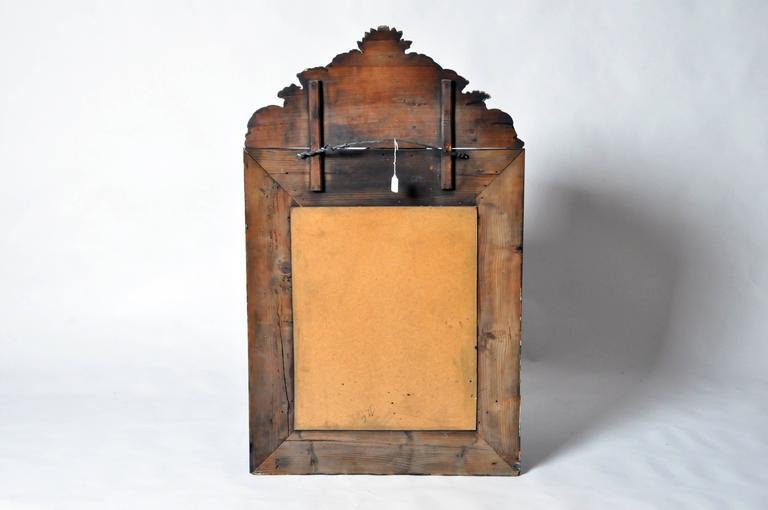 Dutch Baroque Mirror In Good Condition For Sale In Chicago, IL