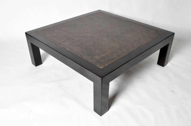 Chinese rattan coffee table with restoration for sale at for Chinese furniture restoration