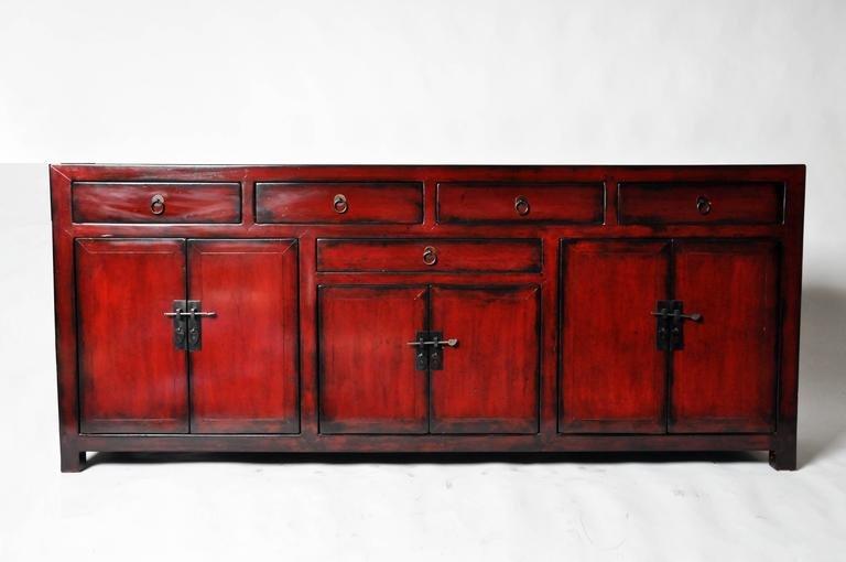 Chinese side chest with restoration at 1stdibs for Chinese furniture restoration
