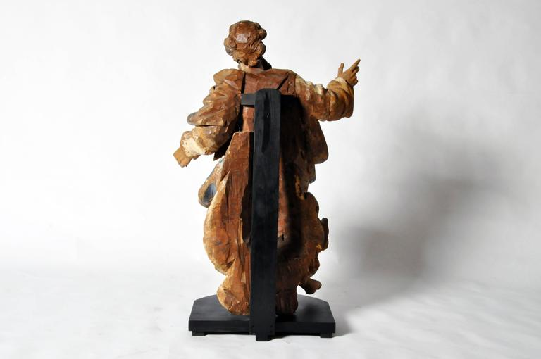Italian Sculpture of Saint Peter For Sale