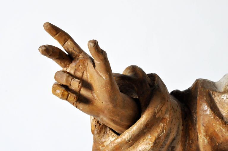 Sculpture of Saint Peter For Sale 2