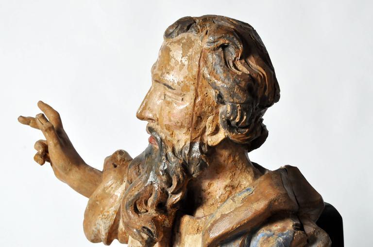 Sculpture of Saint Peter For Sale 1