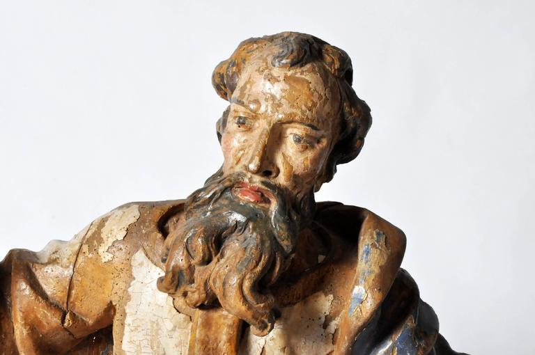 Sculpture of Saint Peter In Good Condition For Sale In Chicago, IL