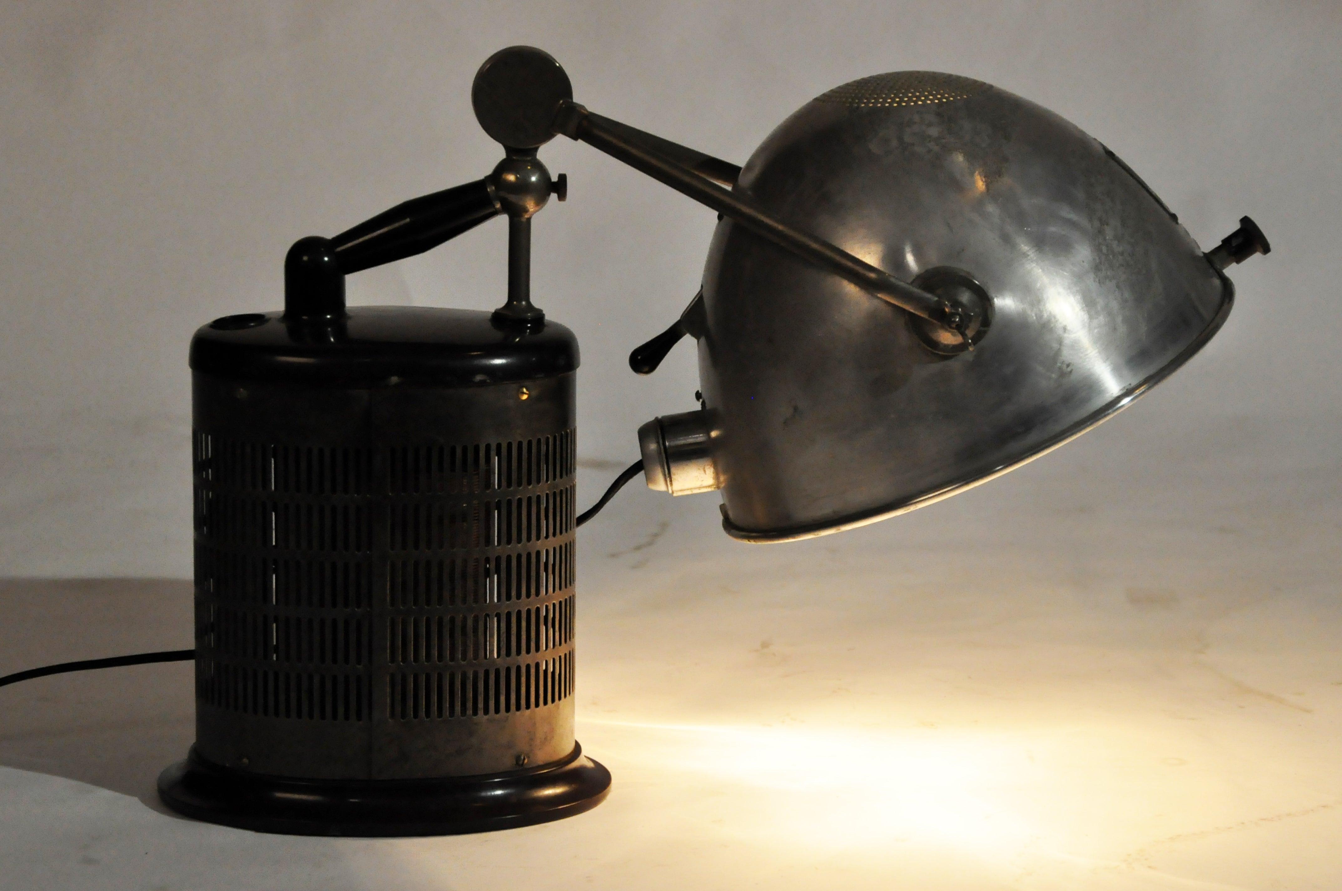 Vintage Hanau Sunlamp For Sale at 1stdibs